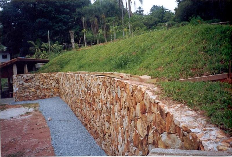 Muro de pedras